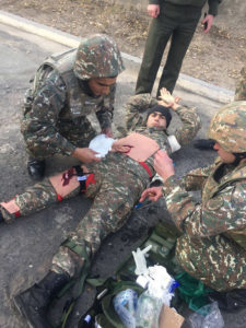 Combat Medic Training AWHF – Armenian Wounded Heroes Fund